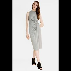 TOPSHOP Knotted Front Dress  NWT